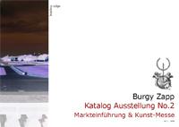 Kunst Katalog Burgy Zapp Ausstellung No.2